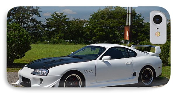 Toyota Supra IPhone Case by Robert Loe