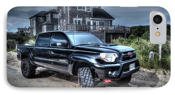 Toyota Tacoma Trd Truck IPhone Case by Robert Loe