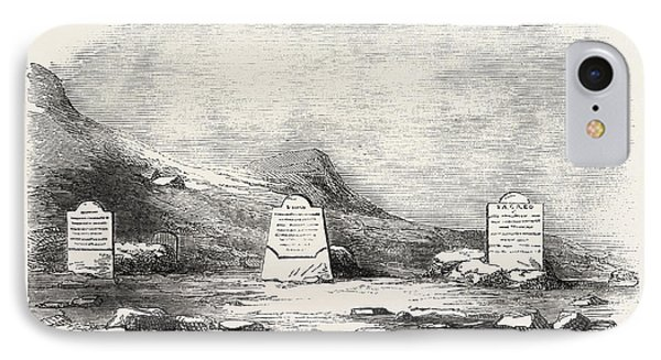 Traces Of The Franklin Expedition The Three Graves At Cape IPhone Case