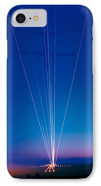 Track Lights Zurich Airport Switzerland IPhone Case