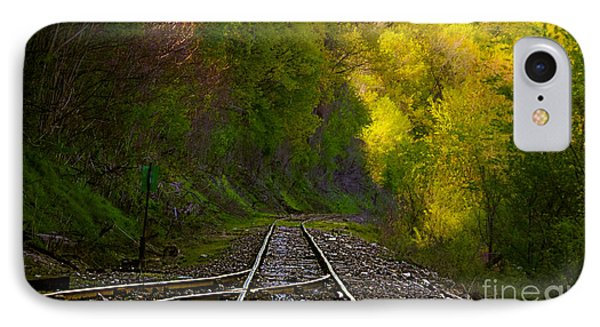 Track Through The Hillside  Phone Case by Peggy Franz