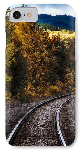 Tracks Through The Mountains  Phone Case by Bob Orsillo