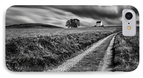 Tracks To Corgarff Castle IPhone Case