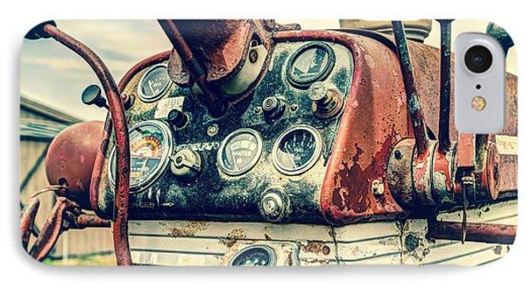 Tractor Dash - Farmall 560 Diesel Phone Case by Gary Heller
