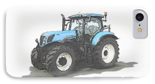Tractor IPhone Case by Roger Lighterness
