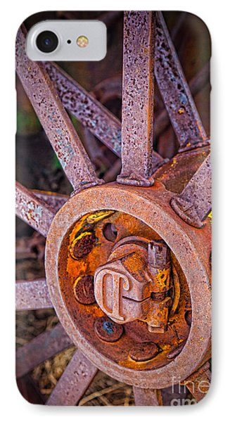 Tractor Spokes IPhone Case