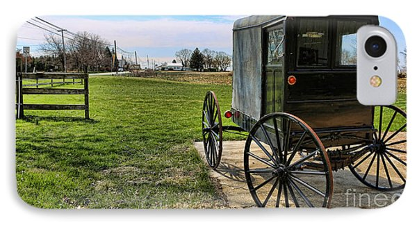 Traditional Amish Buggy Phone Case by Lee Dos Santos