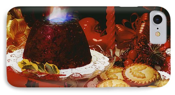 Traditional Christmas Dinner In Ireland Phone Case by The Irish Image Collection