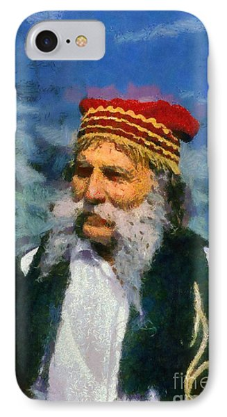 Traditional Dressed Man In Delphi IPhone Case