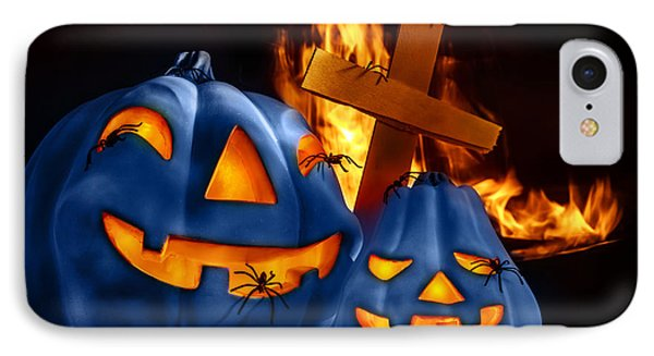 Traditional Halloween Decorations IPhone Case by Anna Om