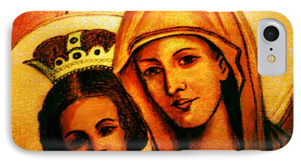 IPhone Case featuring the painting Traditional Orthodox Icon by Persephone Artworks