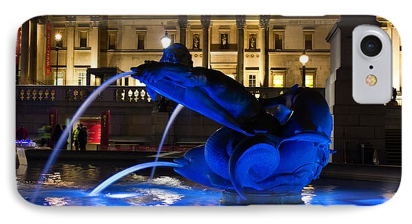 Trafalgar Square At Night IPhone Case