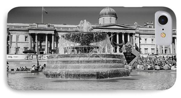 Trafalgar Square IPhone Case by Chris Smith
