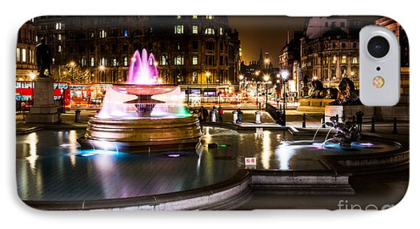 IPhone Case featuring the photograph Trafalgar Square by Matt Malloy