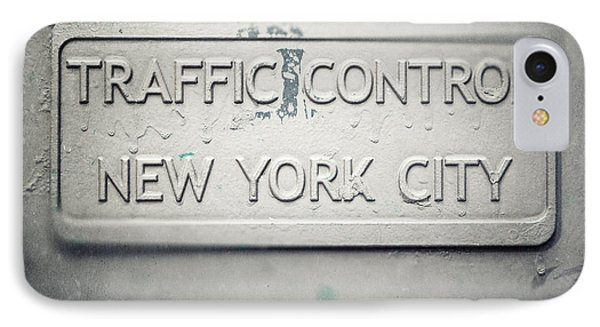 Traffic Control Phone Case by Lisa Russo