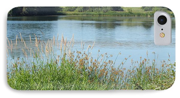 IPhone Case featuring the photograph Trafton Lake3 by Gene Cyr