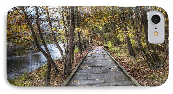 Trail At The River IPhone Case