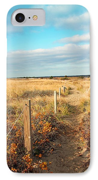Trail By The Sea Phone Case by Brooke T Ryan
