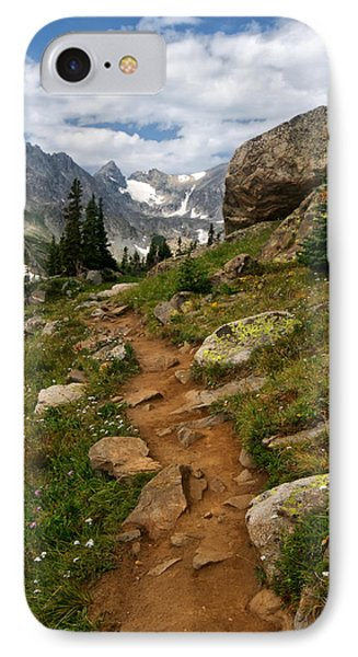 IPhone Case featuring the photograph Trail To Lake Isabelle by Ronda Kimbrow