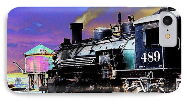 Train 489 IPhone Case by Steven Bateson
