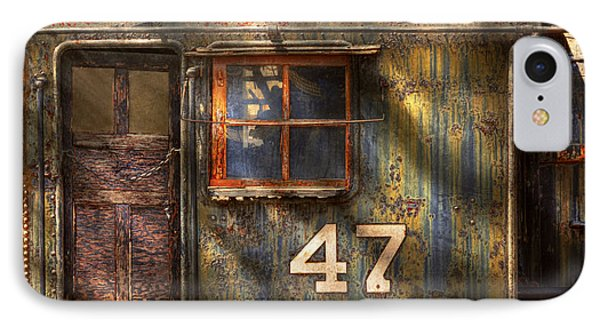 Train - A Door With Character Phone Case by Mike Savad