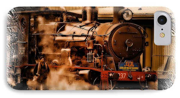 Train Art 3237 IPhone Case by Kevin Chippindall