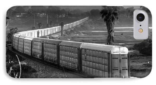 Train At San Elijo Lagoon IPhone Case