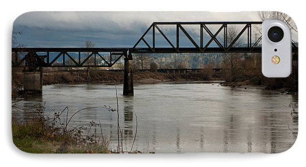 IPhone Case featuring the photograph Train Bridge by Erin Kohlenberg
