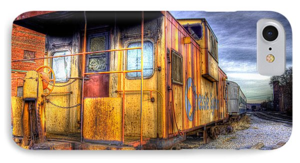 Train Caboose IPhone Case by Jonny D