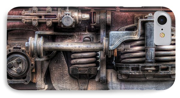 Train - Car - Springs And Things Phone Case by Mike Savad