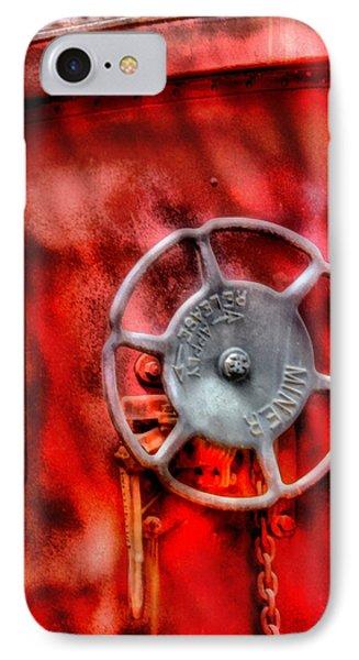 Train - Car - The Wheel Phone Case by Mike Savad