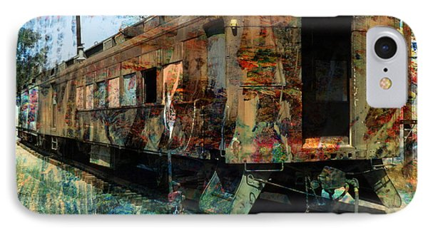 Train Cars Phone Case by Robert Ball