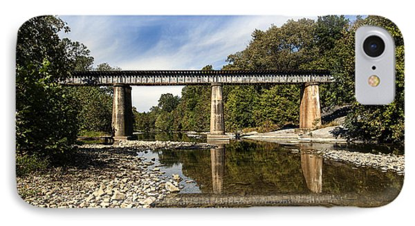 IPhone Case featuring the photograph Train Crossing by David Lester