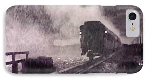 Train Departing IPhone Case by Lyric Lucas