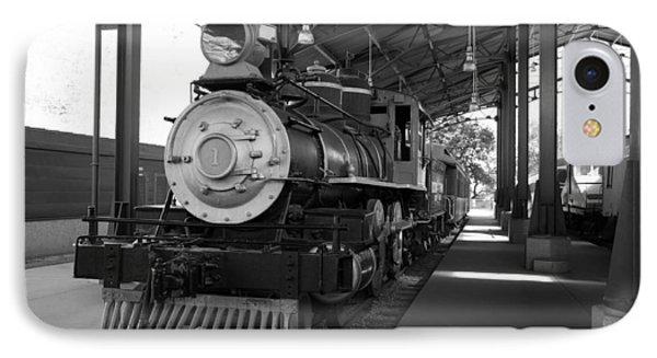 Train IPhone Case by Gandz Photography