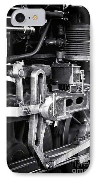 Train Pistons Phone Case by John Rizzuto