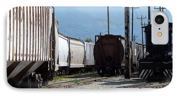 Train Shunting Station Phone Case by Nicki Bennett