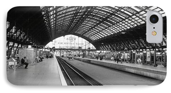 Train Station, Cologne, Germany IPhone Case by Panoramic Images