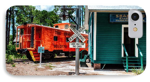 Train Station In Hdr IPhone Case by Michael White