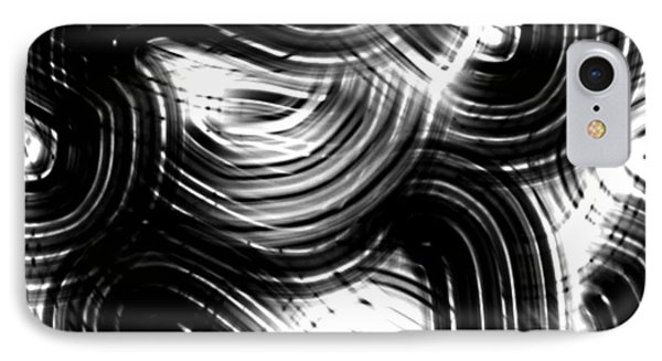 IPhone Case featuring the digital art Train Tracks by Gayle Price Thomas