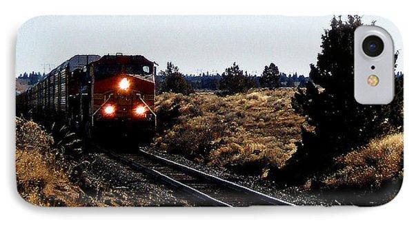 Train Tracks IPhone Case by Jennifer Muller