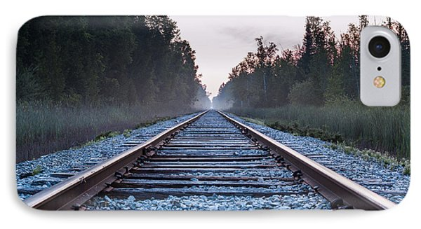 IPhone Case featuring the photograph Train Tracks To Nowhere by Patrick Shupert