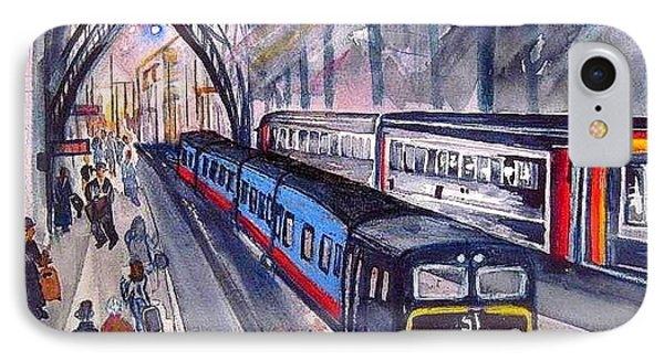 Train Train Train Phone Case by Esther Woods