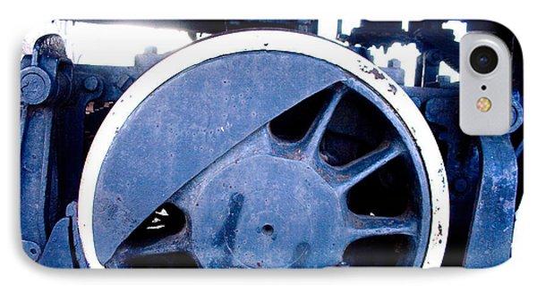 Train Wheel Phone Case by Thomas Marchessault