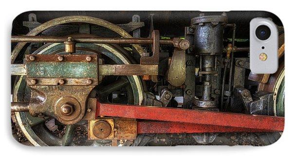 Train Wheels IPhone Case by Mark Papke