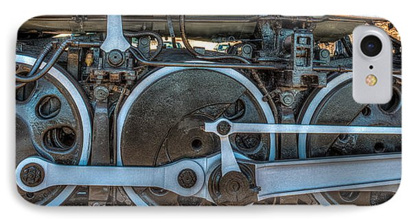 Train Wheels IPhone Case by Paul Freidlund