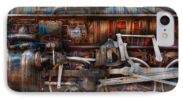 Train - With Age Comes Beauty  Phone Case by Mike Savad