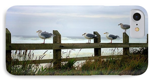 Trained Gulls Phone Case by John  Greaves