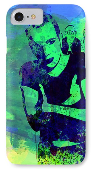 Trainspotting Watercolor 2 Phone Case by Naxart Studio