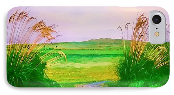 Tralee Ireland Water Color Effect IPhone Case by Tom Prendergast